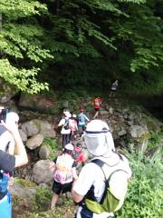 2013-07-14 瀞川平トレラン 川渡り