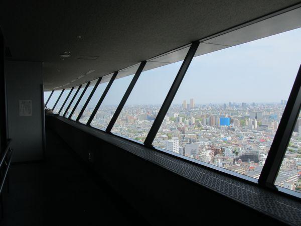 文京シビックセンター25階の展望室