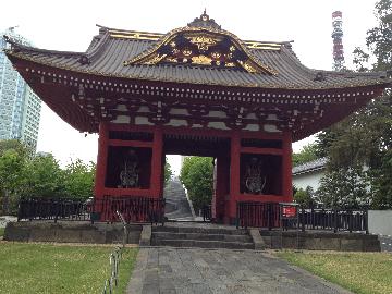 旧台徳院霊廟惣門(たいとくいんれいびょうそうもん)・木造仁王像 二躯 )