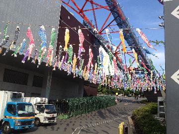 5月4日東京タワー(1)