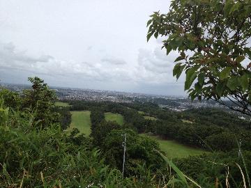 大平山からみた景色
