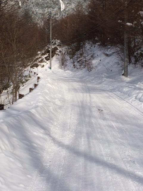 2014 雪道