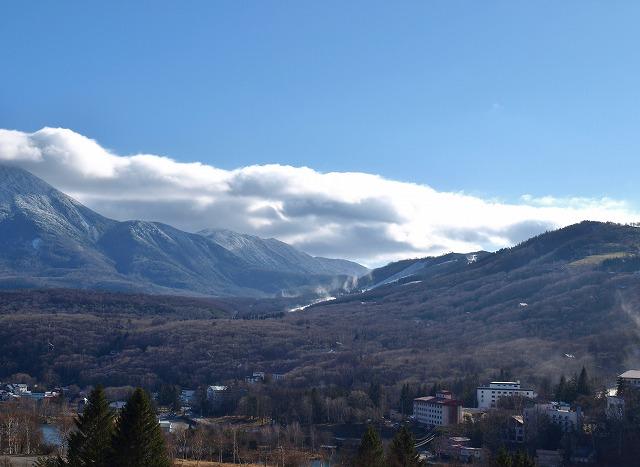 20131129冬の始まりスノーマシン 白樺エリア (6)
