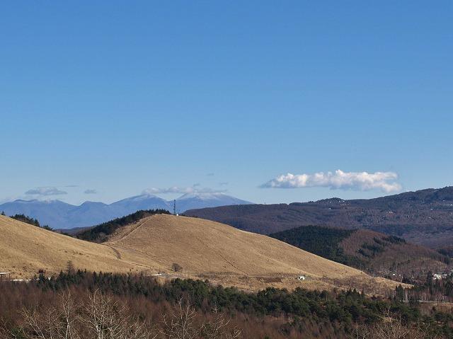 20131129浅間山が見えます (2)