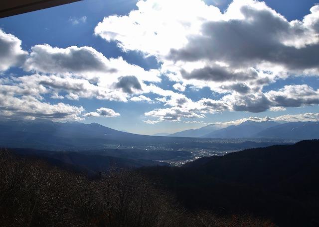 20131129レストランから富士山 (1)