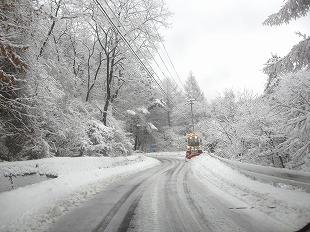 20131220御射鹿池と3号カーブの雪情報 (2)