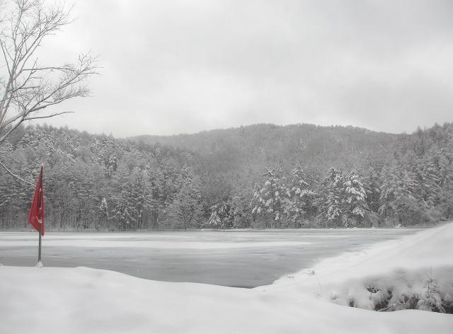 20131220御射鹿池と3号カーブの雪情報 (6)