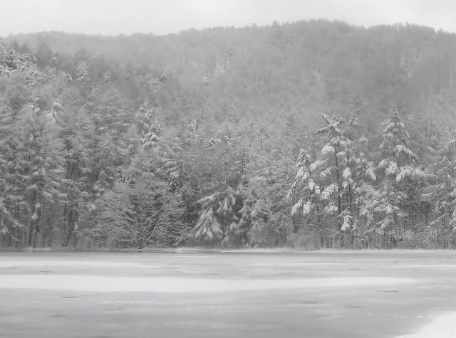 20131220御射鹿池と3号カーブの雪情報 (7)
