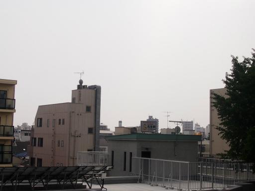 20130811・阿佐ヶ谷七夕空05・阿佐ヶ谷駅・大