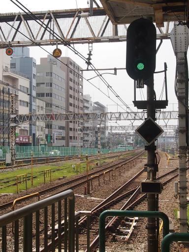 20130811・阿佐ヶ谷七夕空02・荻窪駅