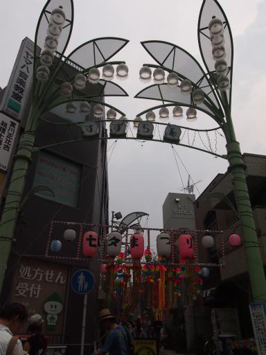 20130811・阿佐ヶ谷七夕空12