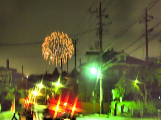 20130811・阿佐ヶ谷七夕空20