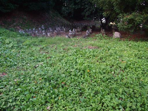 20130921・ビミョー8・群馬墓参り・七輿山の地蔵