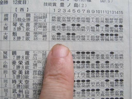 20130919・相撲52-16・2009年11月