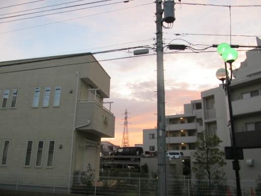 20131008・朝焼け05