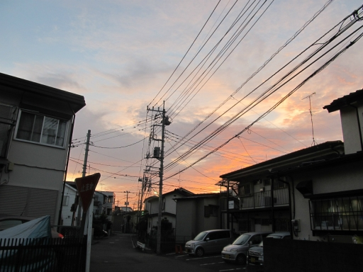 20131008・朝焼け03