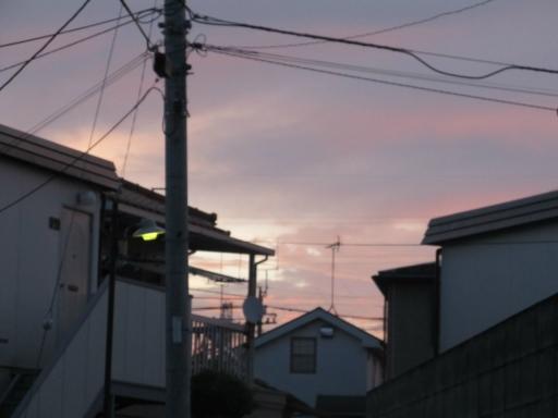 20131008・朝焼け02