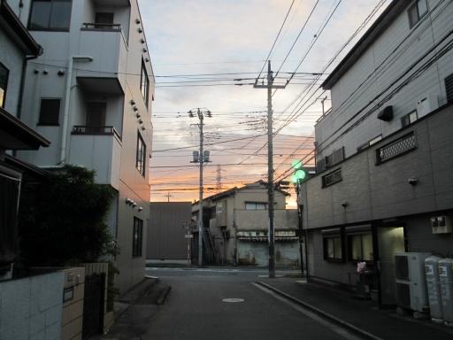 20131008・朝焼け09