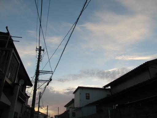 20131008・朝焼け22
