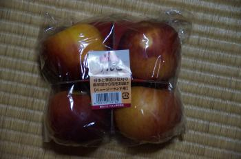 ニュージーランド産リンゴ
