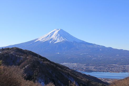 御坂峠と富士山-4