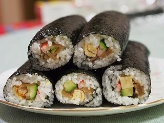 巻き寿司2013年12月