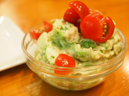 枝豆入りポテトサラダ
