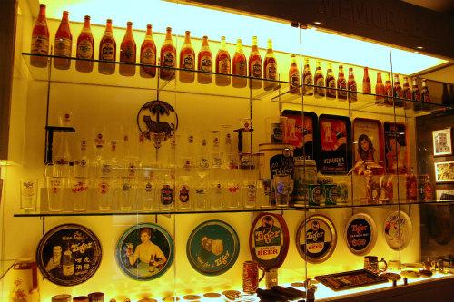 タイガービール工場 展示物
