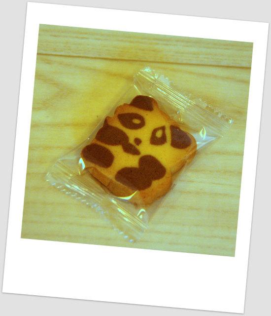 奇華餅家 パンダクッキー