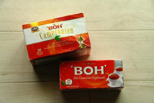 ボーティー BOH TEA 定番