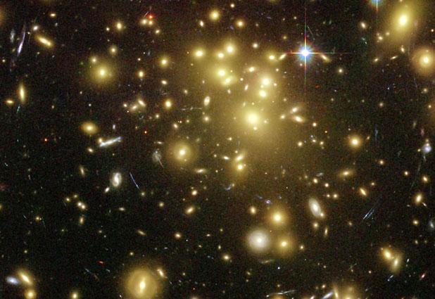 宇宙の一角の銀河たちなimage