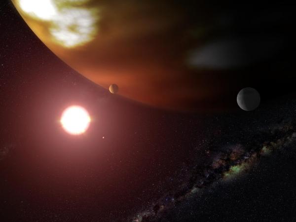宇宙と銀河と惑星とimage
