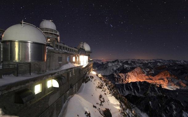 とある冬山な情景のimage