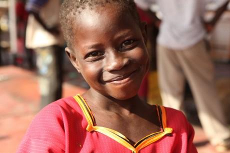 とある少女の笑顔(南スーダン)image