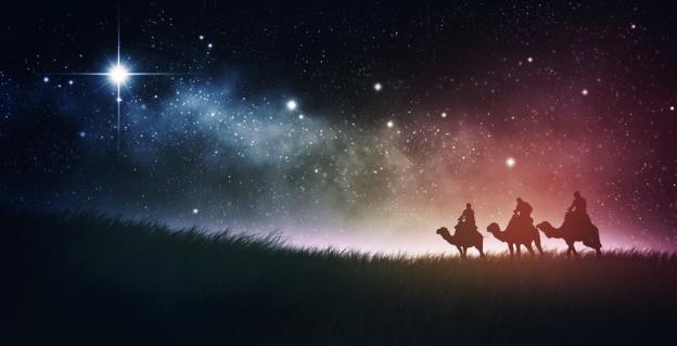 ご公現の夜空と3博士たちimage