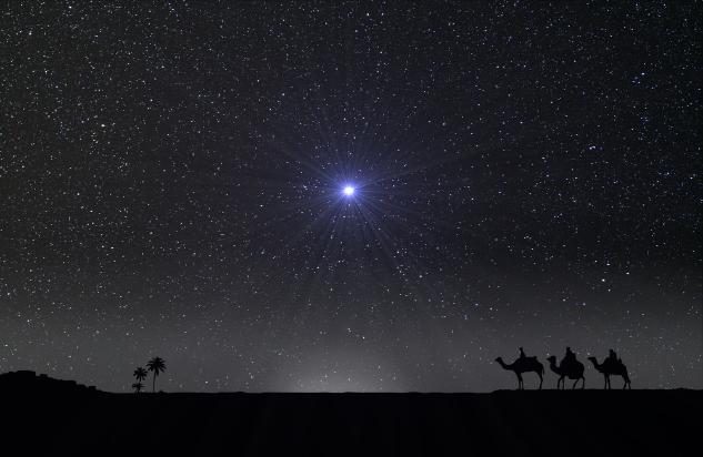 ご公現の星と3人の博士たちimage
