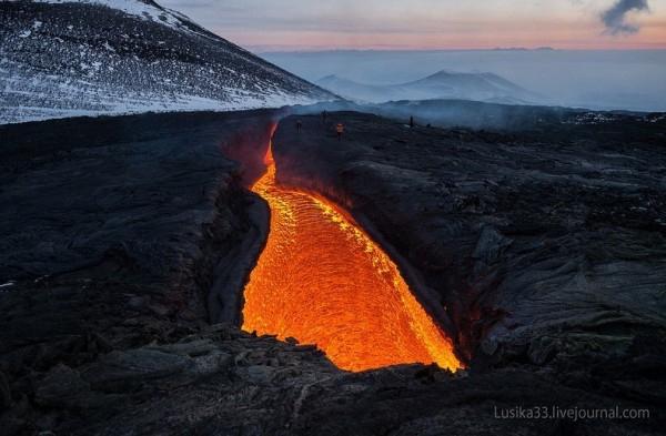 割れ目噴火(tolbachik)image