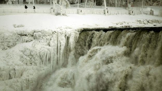 アメリカの大寒波(ナイアガラの凍結2)image