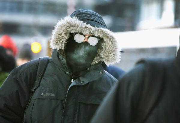 アメリカの大寒波(完全防備)image