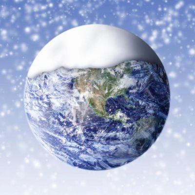 凍りそうな地球image
