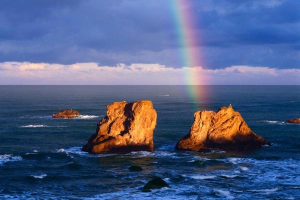 とある虹と海のimage