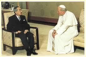 バチカン(天皇陛下とヨハネ・パウロ2世教皇)image