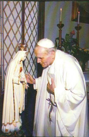 ヨハネ・パウロ2世と聖母image