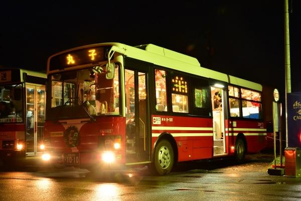 2013年12月19日 上田バス西丸子線 下之郷 H-101号車