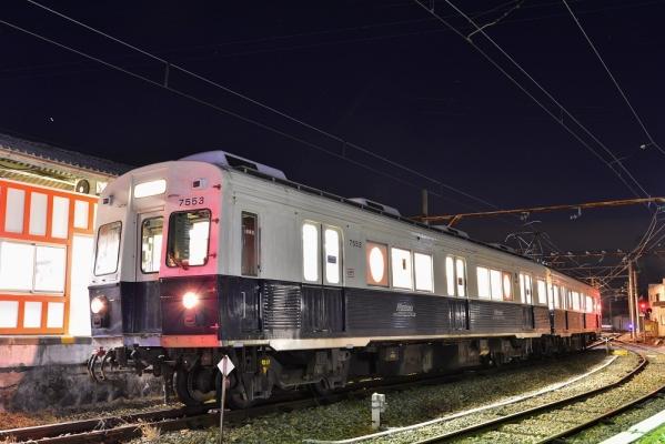 2013年12月25日 上田電鉄別所線 下之郷 7200系7253F