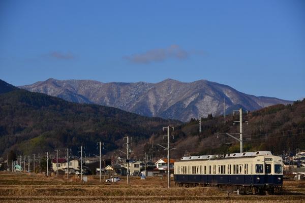 2013年12月25日 上田電鉄別所線 八木沢~舞田 7200系7253F