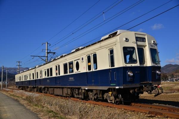 2013年12月25日 上田電鉄別所線 中野~舞田 7200系7253F