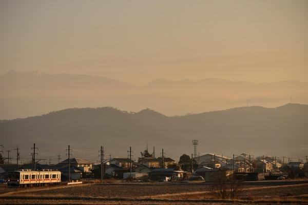 2014年1月3日 上田電鉄別所線 中野~舞田 1000系1004F