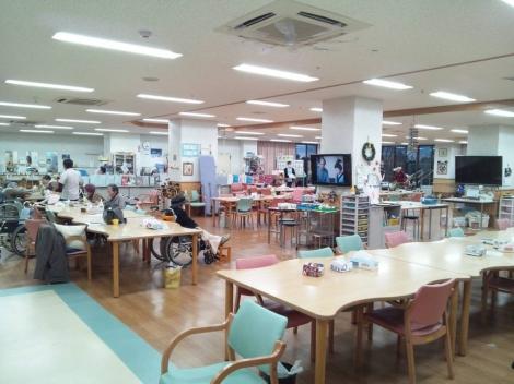 静岡県東部にある介護老人保健施設の作業療法室の内部を写メしました