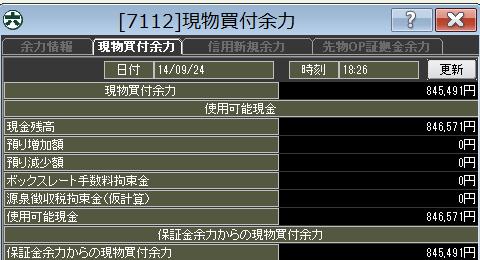 20140924_口座残高